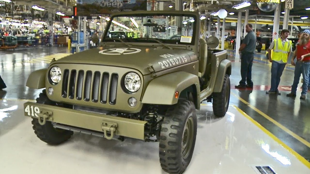jeep celebrates 75 years with this willys mb inspired. Black Bedroom Furniture Sets. Home Design Ideas