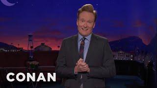 Conan On CNN's Short Trump Penis Segment  - CONAN on TBS