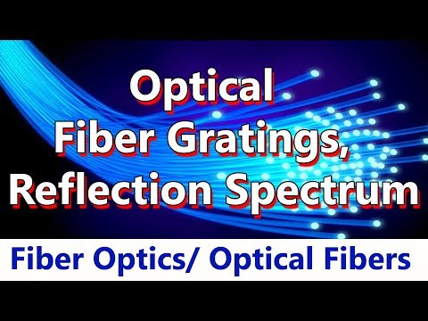 #30 Optical Fiber Gratings, Coupled mode theory, Reflection Spectrum