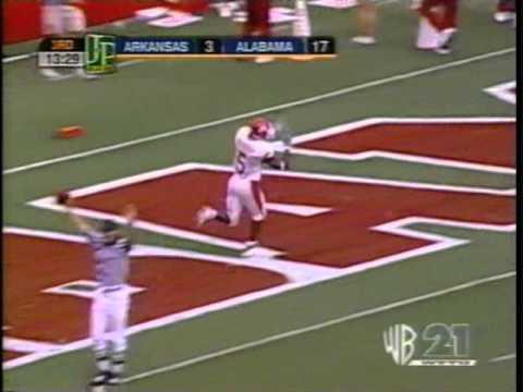 Darren McFadden 70 yard TD at Alabama (2005)