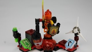 LEGO Nexo Knights Set 70339 Ultimate Flama Speed Build Review