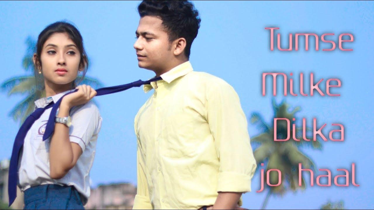 Tumse Milke Dilka Jo Haal I school love story | Tik Tok  Song | Love Sin | F.T Ripon&Priyasmita