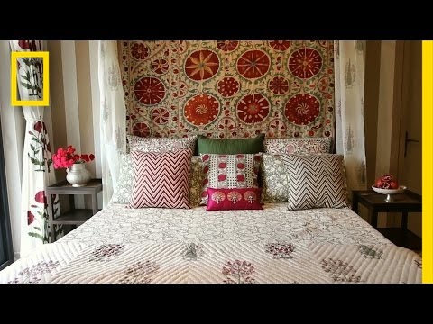 Watch Artisans Craft a Beautiful Indian Bedspread | Short Film Showcase