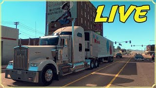 AMERICAN TRUCK SIMULATOR IN LIVE - SI VA IN OREGON! - GAMEPLAY ITA