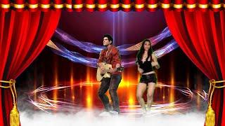 크로마키 가상무대 기타연주 무희 춤 애니메이션 드라이아…