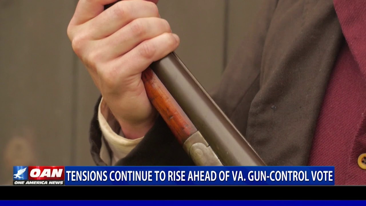Tensions continue to rise ahead of Virginia gun control vote - OAN