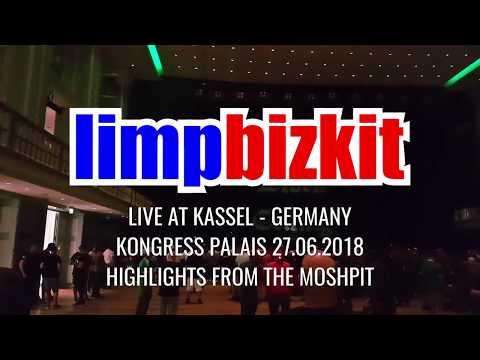 LIMP BIZKIT - LIVE @ KONGRESS PALAIS KASSEL GERMANY 27.06.2018 (Highlights from the Mosh Pit)
