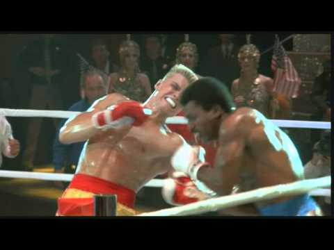 rocky IV- Apollo creed VS ivan drago HD