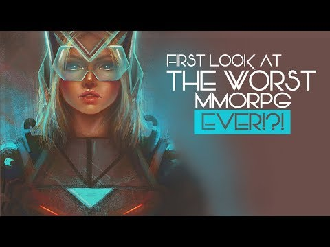 THE WORST MMORPG EVER?! – First Look At The Sci-Fi MMO – Anarchy Online