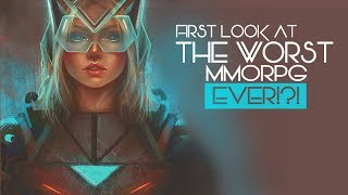 THE WORST MMORPG EVER?! - First Look At The Sci-Fi MMO - Anarchy Online