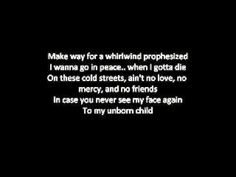 Tupac LETTER TO MY UNBORN CHILD Lyrics   YouTube