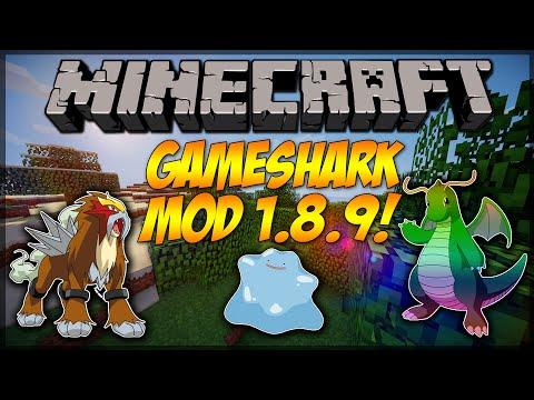 minecraft-mod-showcase:-gameshark-pixelmon-mod-1.8.9!!!