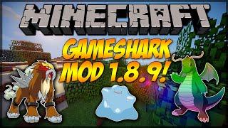 Minecraft Mod Showcase: Gameshark Pixelmon Mod 1.8.9!!!