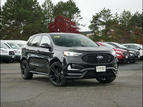 2019 Ford Edge ST Review - Start Up, Revs, and Walk Around