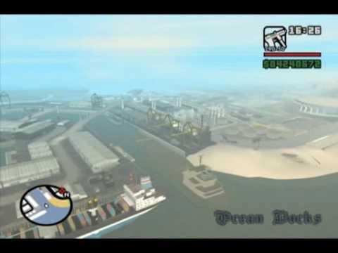 Gta San Andreas Barco Gigante