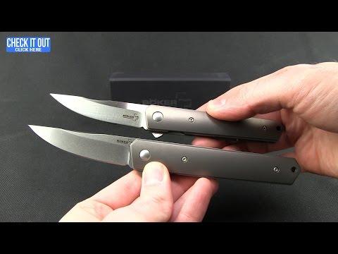 Boker Mini Kwaiken Folding Knife Overview