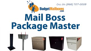 Budgetmailboxes.com | Mail Boss Package Master Locking Mailbox