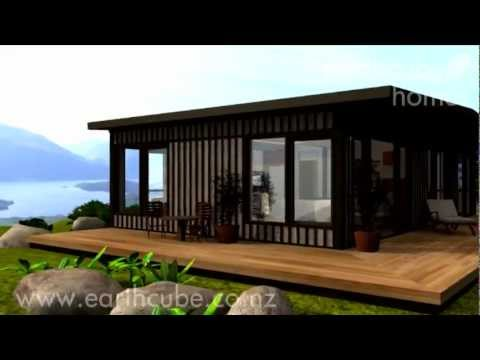 Shipping container home earthcube wing 90 youtube - Container homes youtube ...