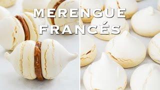 como hacer merengue francés ✩ merenguitos suspiros con dulce de leche tan dulce