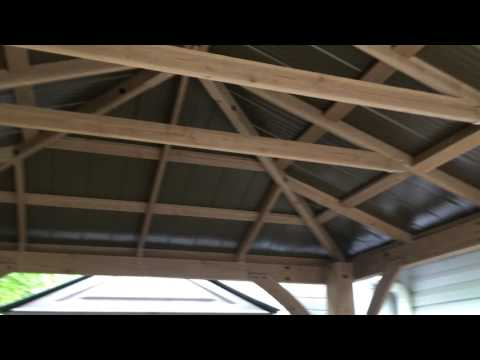 Gazebo installation service in Baltimore MD by Dave Song of Furniture Assembly Experts