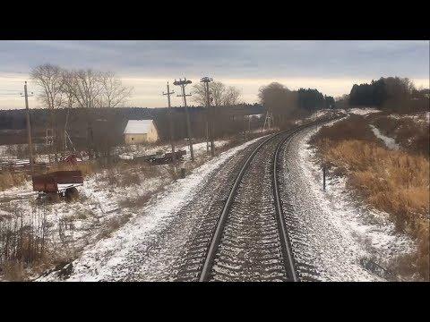 Путешествие по железной дороге Бологое - Старая Русса + Удомля (из СПб)