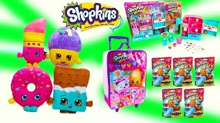 New Shopkins Season 3 So Cool Metallic Fridge W Exclusives Backpack Hanger Blind Bags Plush Toys