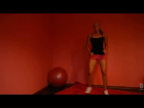 Fitness w domu - modelowanie sylwetki/ perfect body/perfekten Körper