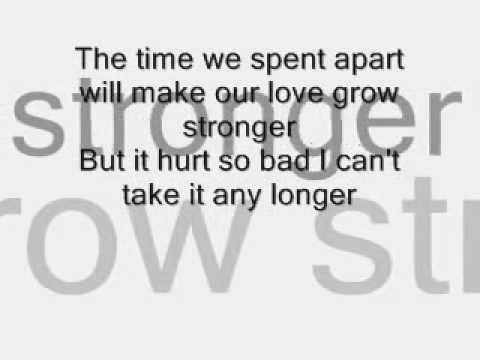 I wanna grow old with you - westlife lyrics