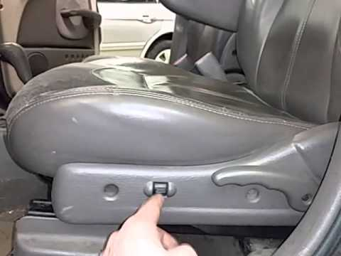 Cp0119 2001 Chrysler Pt Cruiser Driver Side Front Seat