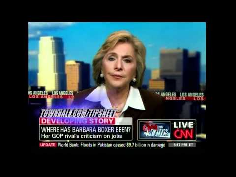 A Visibly Embarrassed Senator Boxer Has Her Lies Repeatedly Called Out By CNN's Blitzer