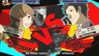 Persona 4 Arena Ultimax: Frosty Faustings IX Day 1 - Top 8 Finals Part 1