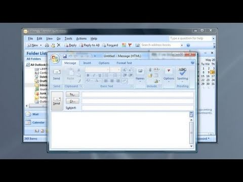 How To Create Shortcuts For Microsoft Outlook Youtube