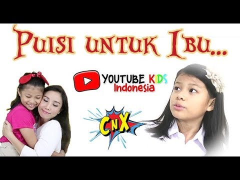 VERY TOUCHING... A POEM FOR MOM from 53 Kids of Youtube Kids Indonesia, HAPPY MOTHER's DAY
