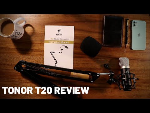 TONOR T20 Studio Boom Arm Review