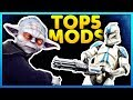 Top 5 Mods of the Week - Star Wars Battlefront 2 Mod Showcase #21