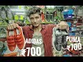 || CHEAP PUMA ,ADIDAS SHOES IN KHIDIRPUR FANCY MARKET || SHOES IN CHEAP PRICE IN FANCY MARKET ||