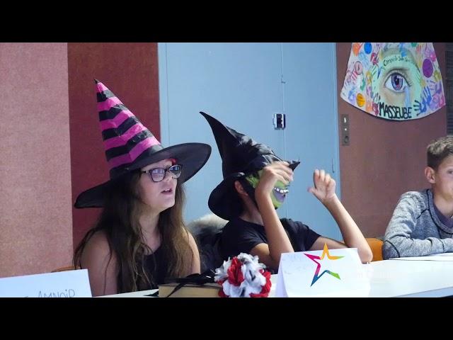 Congrès annuel de sorcellerie avec les élèves de 6ème