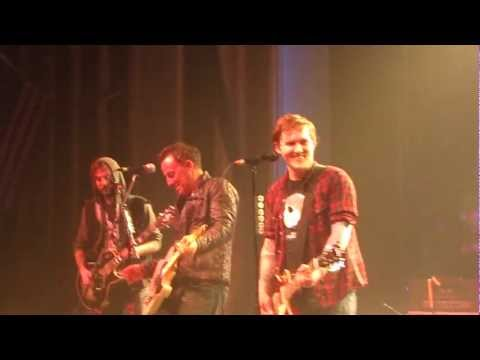 The Gaslight Anthem Feat. Bruce Springsteen - American Slang - 12/09/11 - Asbury Park - WATCH IN HD!
