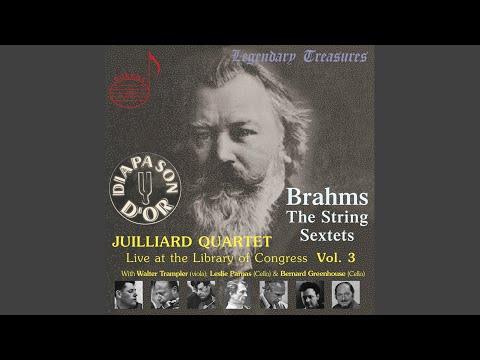 String Sextet No. 2 in G Major, Op. 36: II. Scherzo. Allegro non troppo (Live)