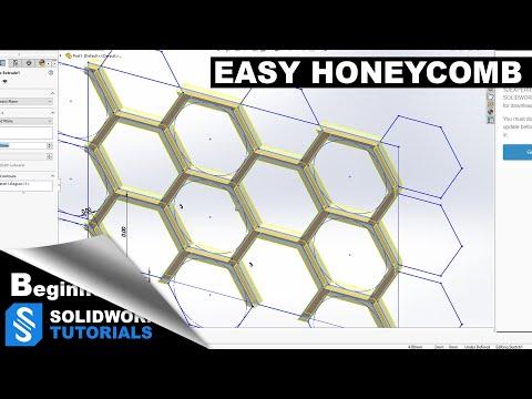 SolidWorks /SolidWorks Tutorial Honeycomb /SolidWorks