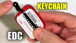 Altoids SMALLS Survival Kit: Keychain Carry