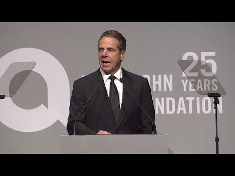 Governor Cuomo Delivers Remarks at the Elton John AIDS Foundation Gala