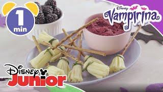 Vampirina  Easy Halloween Recipe: Vee-licious Witches Broomsticks   Disney Junior UK
