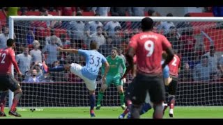 Premier League highlights and goals Manchester United - Manchester City