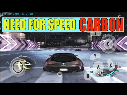 NEED FOR SPEED CARBON - DOLPHIN EMULATOR ANDROID GAMECUBE