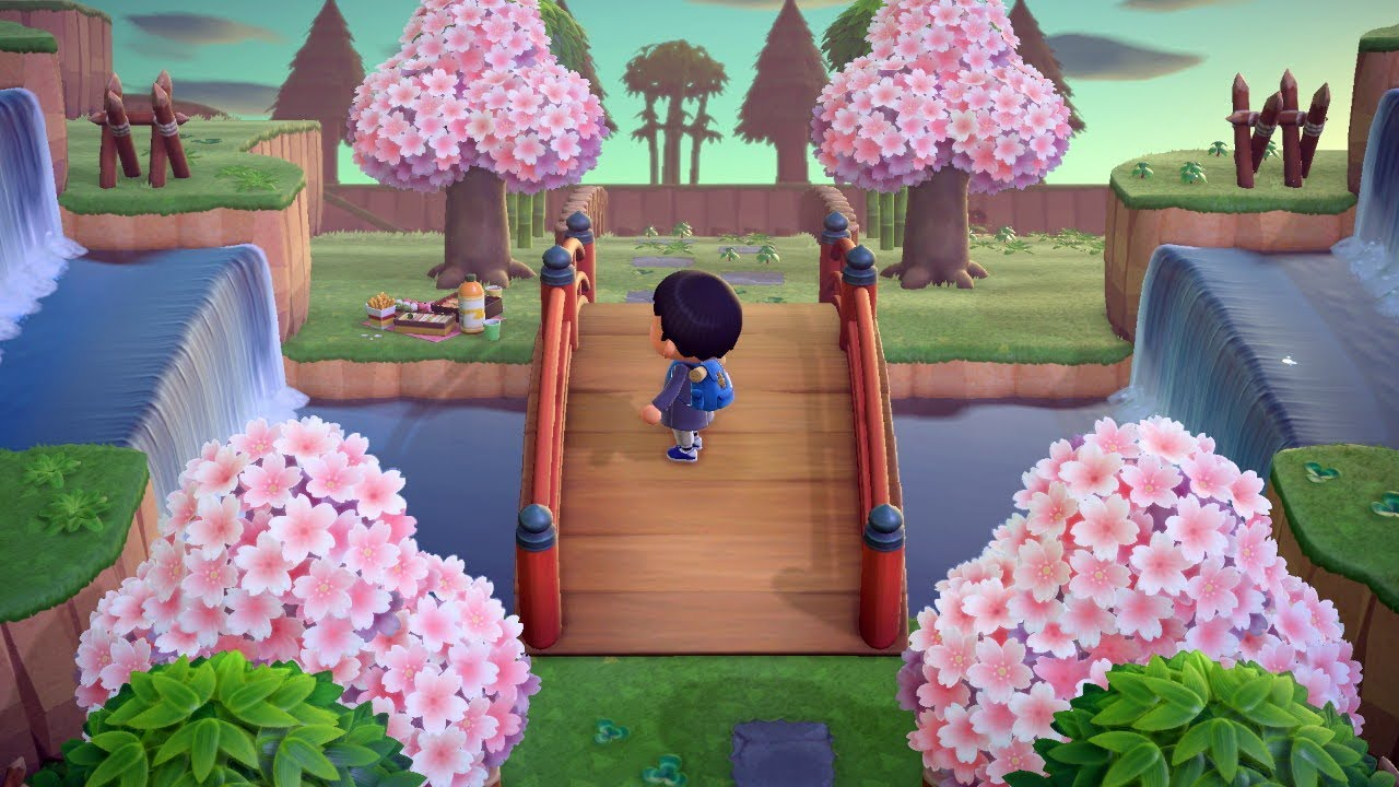 Animal Crossing New Horizon Japanese Town Part 1 Youtube