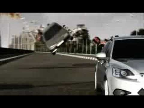 """Ford Focus """"Upside Down"""" Ad, Cairo, Egypt"""