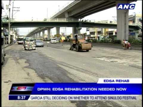 DPWH chief: EDSA rehabilitation urgent