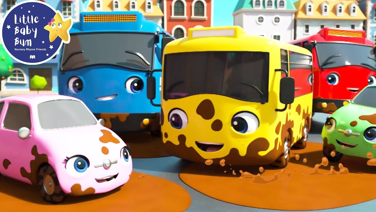 Carwash Song - Carwash for Kids | +More Nursery Rhymes & Kids Songs | Baby Songs | Little Baby Bum