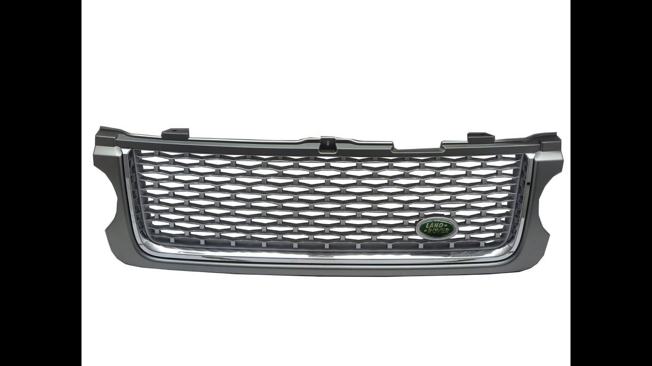 CrazyTheGod Range Rover L322 10 13 WITH GREEN LOGO Front Bonnet